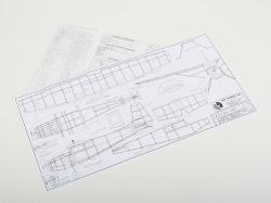 SIG Cessna 180 (457mm), laserom rezaná