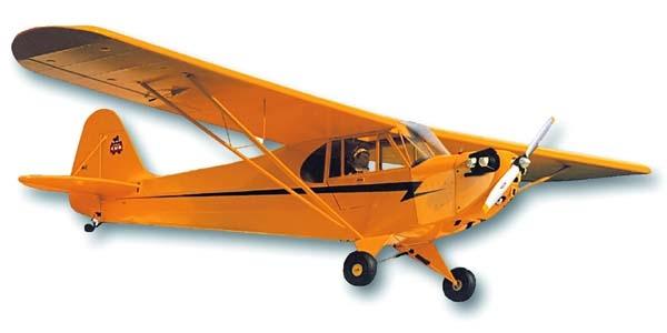 Piper J-3Cub 1/4 2743mm kit BIY