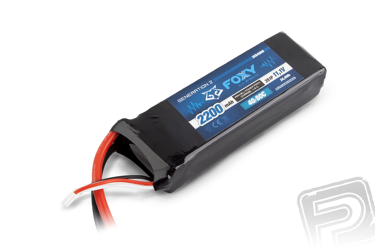 Náhľad produktu - FOXY G2 - LC Li-Pol 2200mAh/11,1V 40/80C 24,4Wh