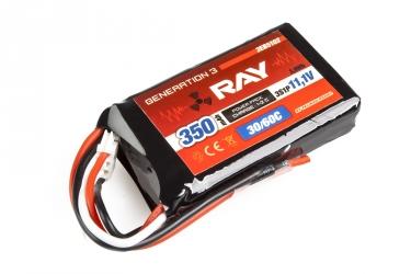G3 RAY Li-Pol 350mAh/11,1 26/50C Air pack 3,9Wh