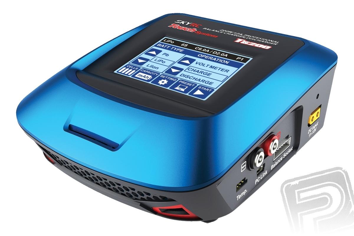 Náhľad produktu - SKY RC T6200 200W nabíjač