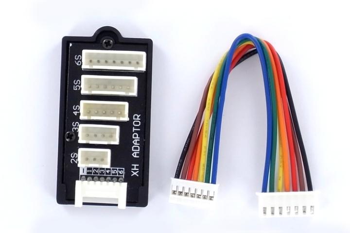 Náhled produktu - Adaptér pro balancery 2-6S (JST-XH)