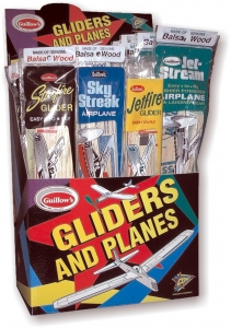 Combo Pack 4 (4x12 ks Balsa GLIDERS a stupid combat convenient package