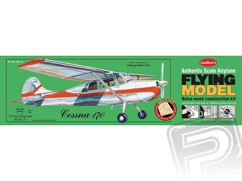 Náhľad produktu - Cessna 170 (610mm) laserom rezaná