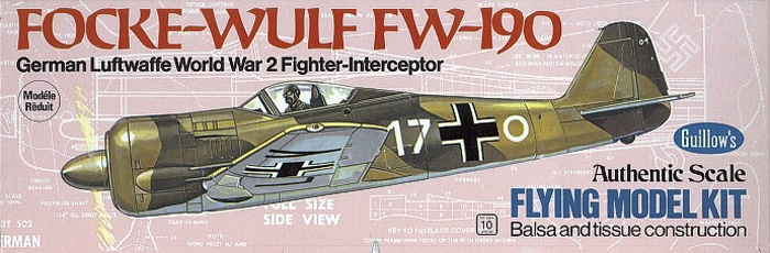Náhľad produktu - Focke-Wulf FW-190 419mm