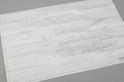 Gee Bee R-1 Racer 610mm (laserom vyrezávaný)
