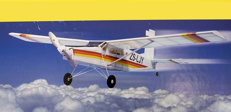 Náhľad produktu - Pilatus Turbo Porter 1016mm (stavebnica)