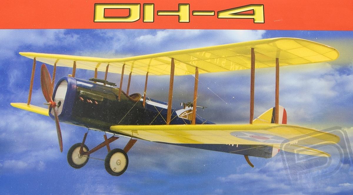 Náhľad produktu - deHavilland DH-4 889mm (stavebnica)