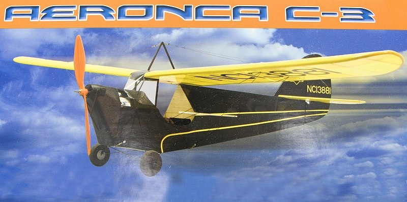 Náhľad produktu - Aeronca C-3 Collegian 889mm (stavebnica)