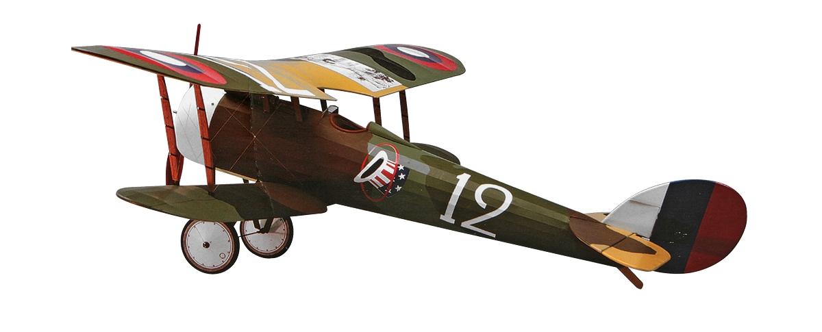 Náhľad produktu - Nieuport 28 - laserom vyrezaný 889mm (stavebnica)