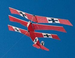Fokker Triplane drak 1219 mm