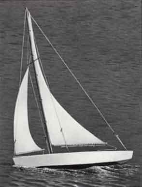 Náhľad produktu - Ace Racing Sloop plachetnica 432mm