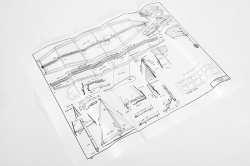 Ace Racing Sloop plachetnica 432mm