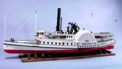 Mount Washington riverboat, ABS hull 1.130mm