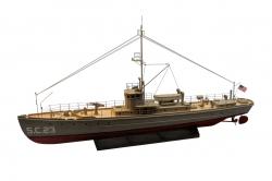 Náhľad produktu - SC-1 - stíhač ponoriek 953mm