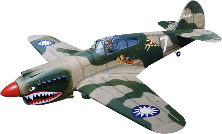 BH56 P-40C TOMAHAWK 90 1660mm