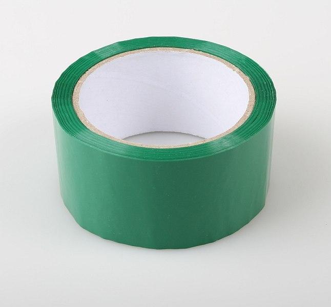 Náhled produktu - Páska ZELENÁ 50mm samolepící (66 m)