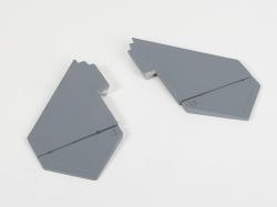 Náhľad produktu - F-22 Raptor - výškovky, (US Flag)