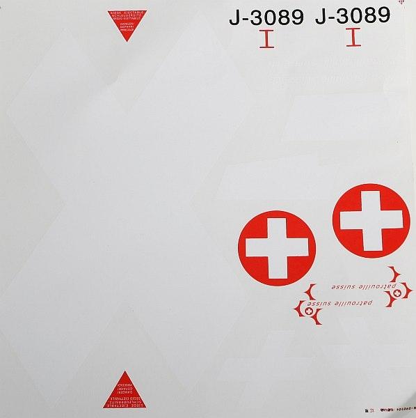 Náhľad produktu - F-5E Tiger - arch polepů, (Patrouille de Suisse)