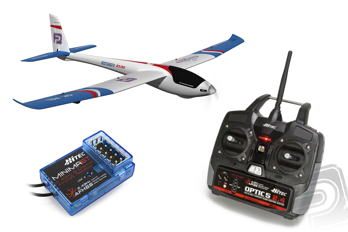 GAMA 2100 - RTF M1 5k 2.4GHz HITEC Optic 5 - brushless