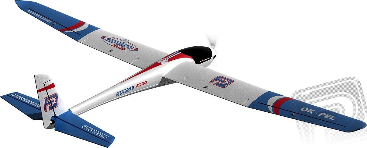 GAMA 2100 - KIT včetně motoru a vrtule