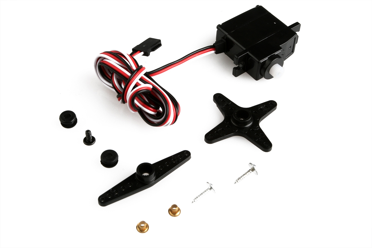 Náhľad produktu - GAMA servo krídeliek (18 g, kábel 800 mm)