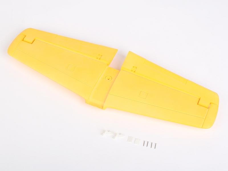 Náhľad produktu - P-51 Mustang (žlutý) - výškovka
