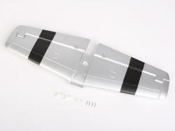Náhľad produktu - P-51 Mustang (stříbrný) - výškovka