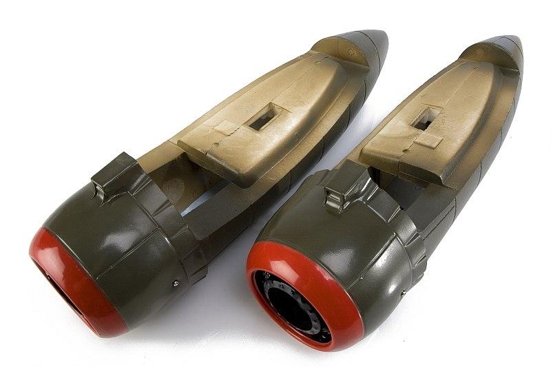 Náhľad produktu - B-25 Mitchel (zelený) - gondoly