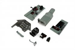 Náhľad produktu - Giant P-51D Mustang EPP - plastové maketové díly kabiny
