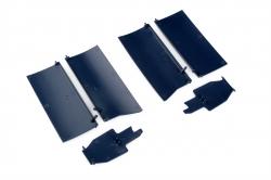 Náhľad produktu - Giant F4UCorsair EPP - prední klapky podvozka