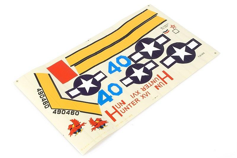 Náhľad produktu - P-47 Thunderbolt (baby WB) - samolepky