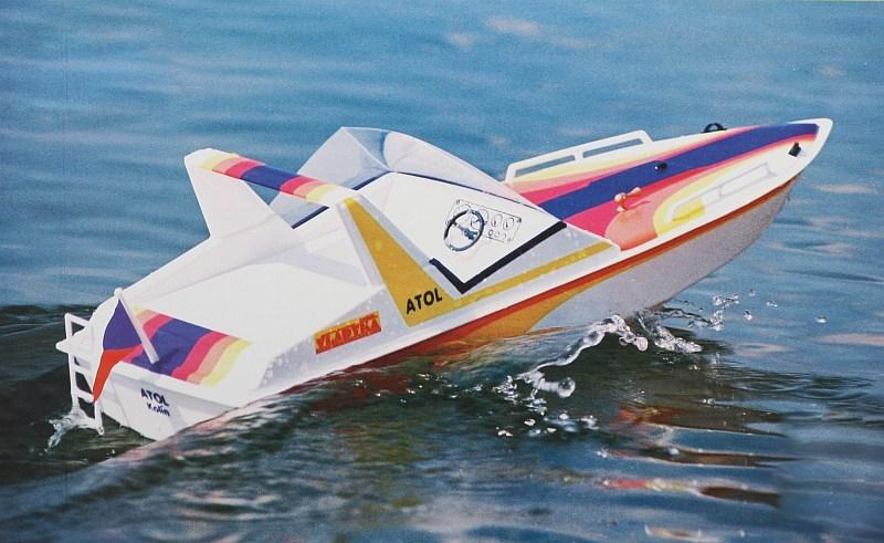 Náhľad produktu - ATOL - rýchlostný čln (stavebnica)