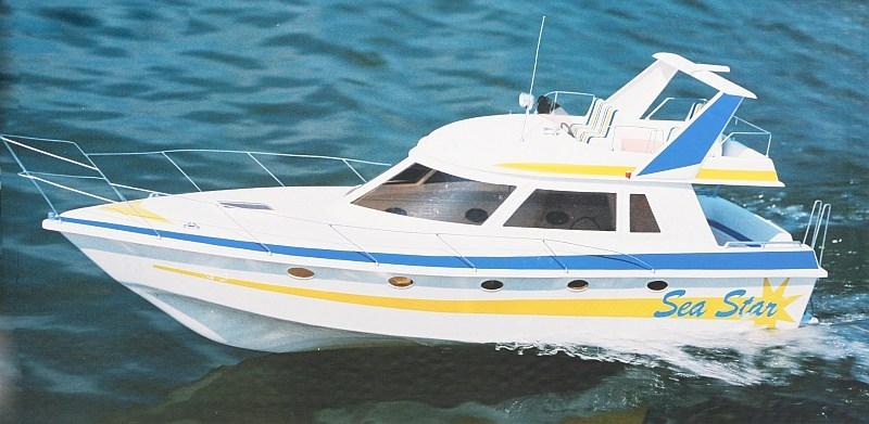 Náhľad produktu - SEA STAR - jachta (stavebnica)