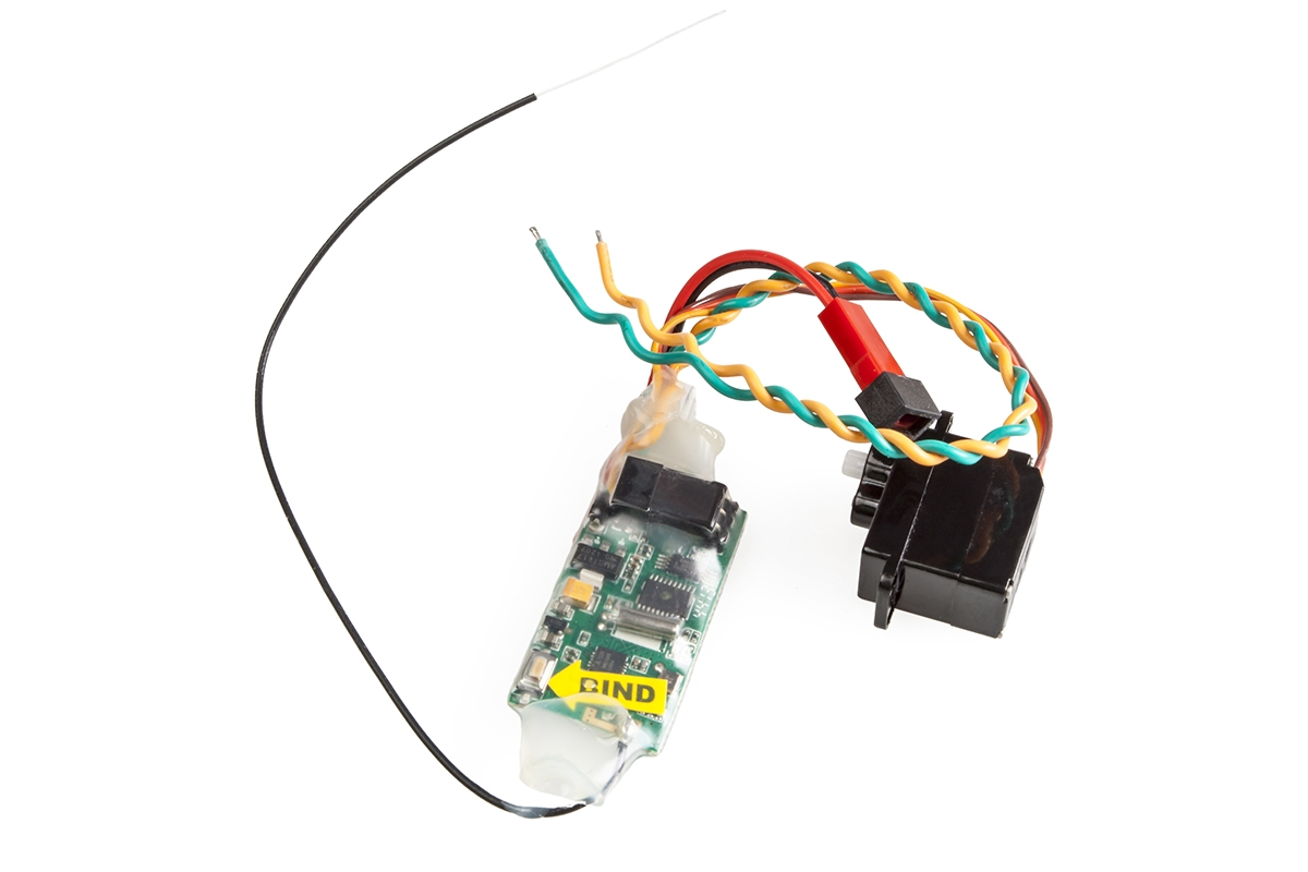 Náhled produktu - Magic Cat - elektronika (ESC, RX 2,4GHz, Servo)