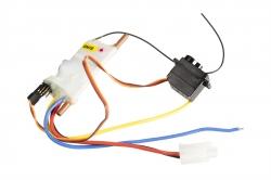 Náhled produktu - Mad Shark - elektronika (ESC, RX 2,4GHz, Servo)