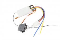 Produkt anzeigen - Offshore Lite Warrior - elektronika (ESC, RX 2,4GHz, servo)