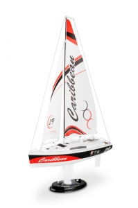 Caribbean RTR 2.4GHz Sailboat (Red)