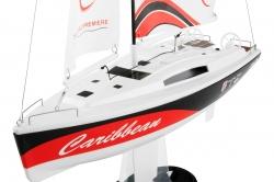 Caribbean RTR 2,4GHz plachetnice (červená)