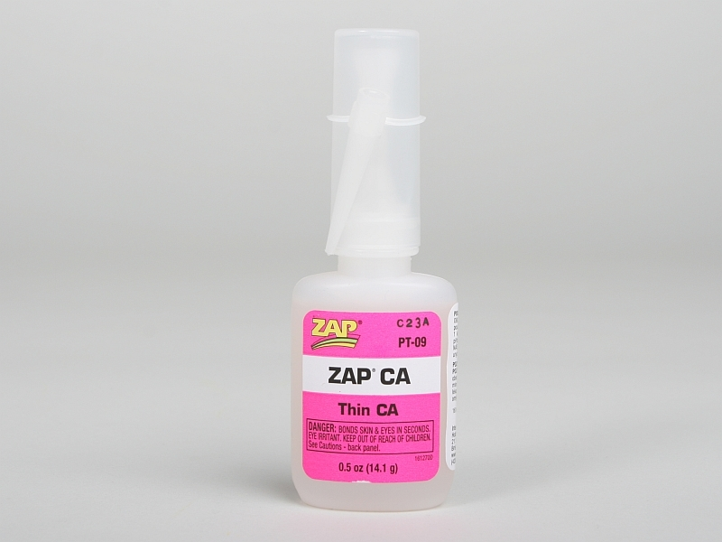 ZAP CA 14,1g (1/2oz.) řídké vteř.lepidlo