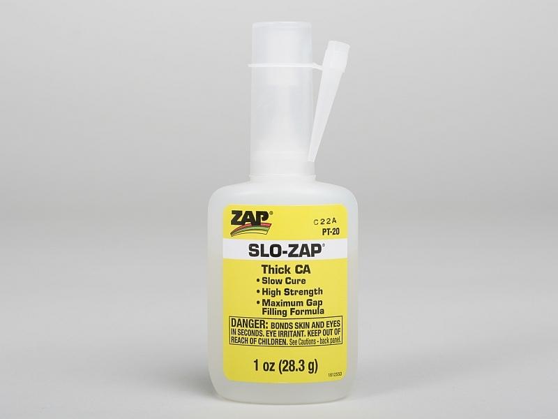 Náhľad produktu - SLO-ZAP 28,3g (1oz.) husté sekundové lepidlo