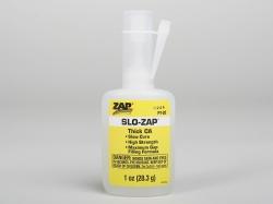 SLO-ZAP 28,3g (1oz.) husté sekundové lepidlo