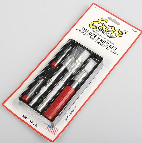 Náhľad produktu - Excel sada nožů 1/2/5 s 10 čepelemi