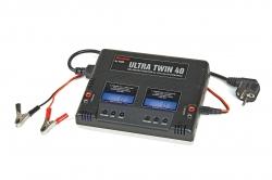 Náhľad produktu - GRAUPNER - TWIN 40 nabíjač