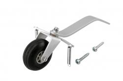 Náhľad produktu - Duralová ostroha 38mm veľká s kolesom