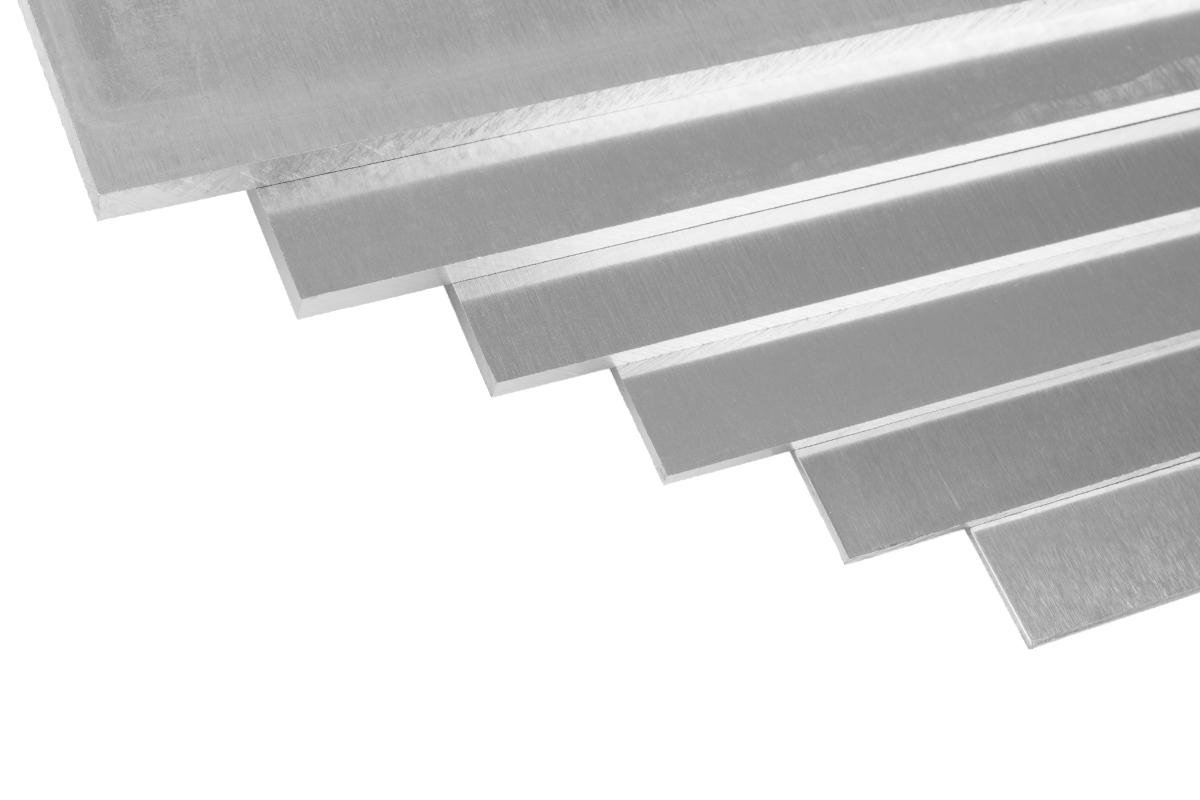 Náhľad produktu - Duraluminium plech 500x250x3,0 mm