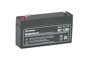 Náhľad produktu - Pb akumulátor 6 V/1,2 Ah