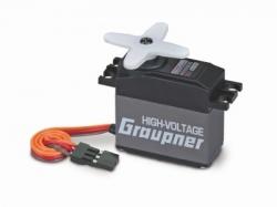 Náhľad produktu - HVS 939 BB, MG-Hi Volt (tlouštka 20mm) servo