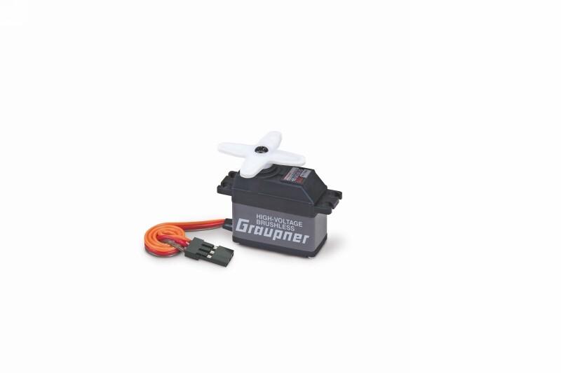 Náhľad produktu - Servo HBS 660 BB, MG-Hi Volt-Brushless (tlouštka 16mm)