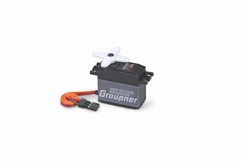 Náhľad produktu - HBS 770 BB, MG-Hi Volt-Brushless (tlouštka 20mm) servo
